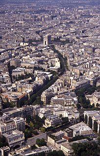 avenue in Paris, France
