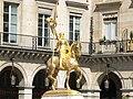 Paris 75001 Place des Pyramides Jeanne d'Arc equestre by Frémiet SW2.jpg