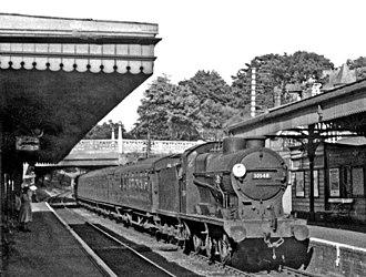 Parkstone railway station - Image: Parkstone railway station geograph 2684607 by Ben Brooksbank