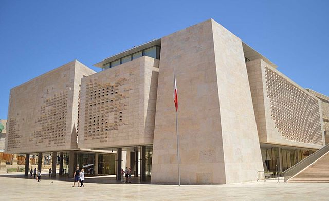 File Parliament House Malta Jpeg Wikimedia Commons