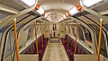 Partick subway station train interior.jpg
