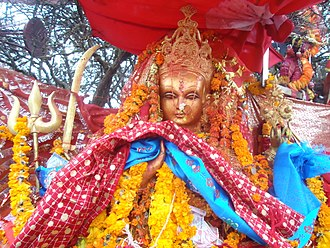 Pathibhara Devi Temple - Statue of Pathibhara Devi