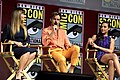 Patty Jenkins, Chris Pine & Gal Gadot at the 2018 Comic-Con International.jpg