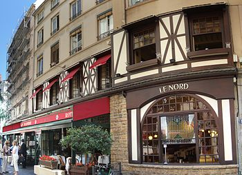 Le Nord, one of Bocuse's chain of brasseries i...