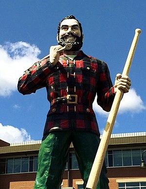Paul Bunyan - Paul Bunyan statue in Bangor, Maine