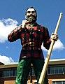 Paul Bunyan statue in Bangor, Maine.JPG