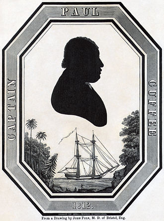 American Colonization Society - Paul Cuffee in 1812.