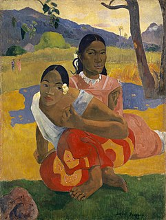 <i>When Will You Marry?</i> 1892 Paul Gauguin painting