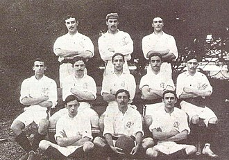 Club Athletico Paulistano - The team that won the first Campeonato Paulista for the club in 1905.