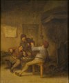 Peasants Drinking and Smoking (Adriaen van Ostade) - Nationalmuseum - 17555.tif