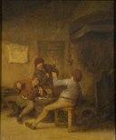 Peasants Drinking and Smoking (Adriaen van Ostade) - Nationalmuseum - 17555.tif