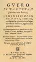 Pedro Axularren Guero-ren lehenbiziko argitaraldiaren azala (Bordele, 1643).png
