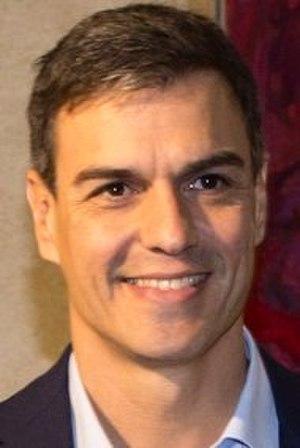 Next Spanish general election - Image: Pedro Sánchez 2017 (cropped)