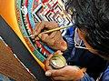 Peintre de Thanka (Bhaktapur, Népal) (8531731959).jpg