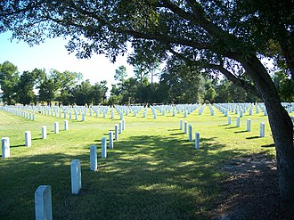 National Register of Historic Places listings in Escambia County, Florida - Image: Pensacola FL Barrancas Ntl Cem 02