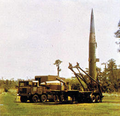 erect missile on launcher