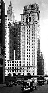 Pershing Square Building Office skyscraper in Manhattan, New York