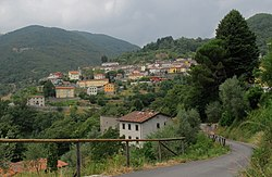Panorama of Pescaglia