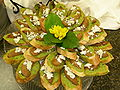 Pesto, spiced pear and bue cheese crostini.jpg