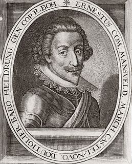 Ernst von Mansfeld German noble and military commander