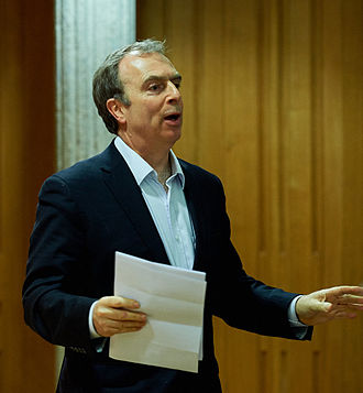 Peter Hitchens - Hitchens participating in a debate (2015)