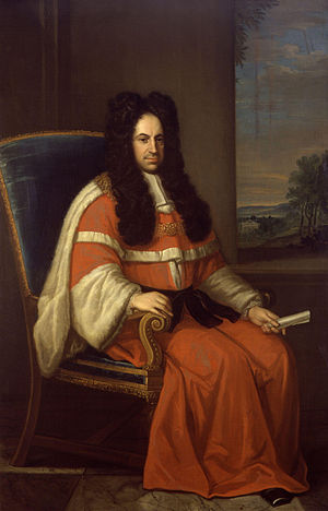 Peter King, 1st Baron King - The 1st Lord King, by Daniel de Coning, 1720