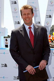 Peter Overton Australian television presenter and journalist