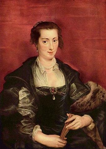 Портрет Изабеллы Брант. Около 1610, масло по дереву, 96×70см, Берлинская национальная галерея