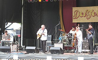 Peter Rowan - Peter Rowan and the Free Mexican Airforce at DelFest 2009