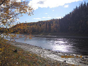Fort Liard - Image: Petitot River