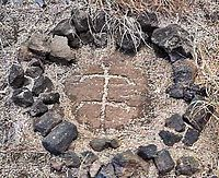 Petroglyph on the western coast of Hawaii.jpg