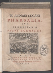 The Pharsalia of Lucan