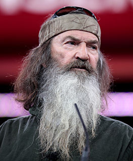 Phil Robertson American professional hunter, businessman and reality television star