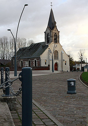 Abbécourt - Abbécourt Church