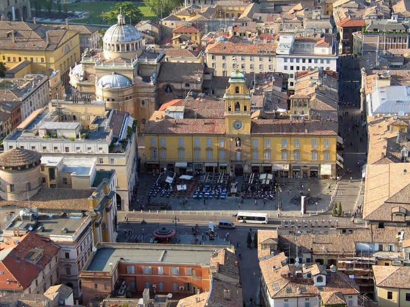 Piazza Garibaldi a Parma