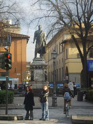 Pio Fedi - Monument of General Manfredo Fanti, Piazza San Marco, Florence