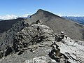 Pic du Lombard summit cairn and view on Petit Rochebrune and Monviso.jpg