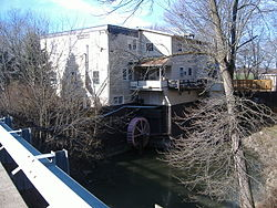 Bazore Mill, a historic site in the township
