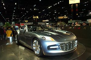 Chrysler Firepower - Front view of the Chrysler Firepower