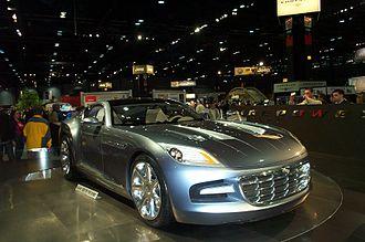 Chrysler Firepower - Front view of the Chrysler Firepower
