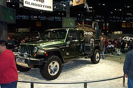 Jeep Gladiator op de Chicago Auto Show in 2005