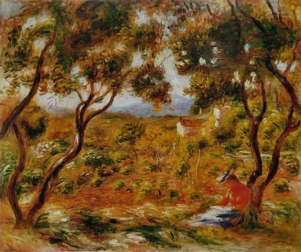 Pierre-Auguste Renoir - Les Vignes à Cagnes