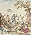 Pierre Goetsbloets, vol. 3, Camp der fransoisen tusschen den dorpe van deurne en weyneghem.jpg
