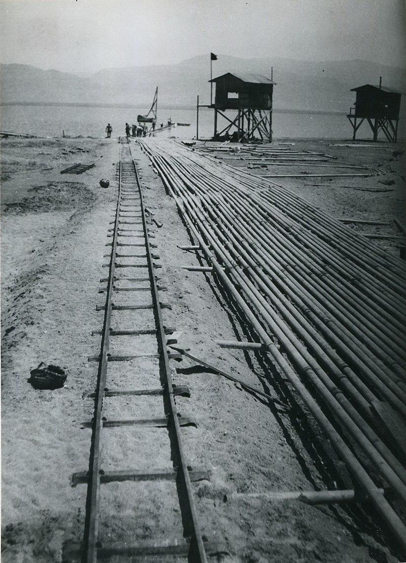 מסילה לשינוע מלח