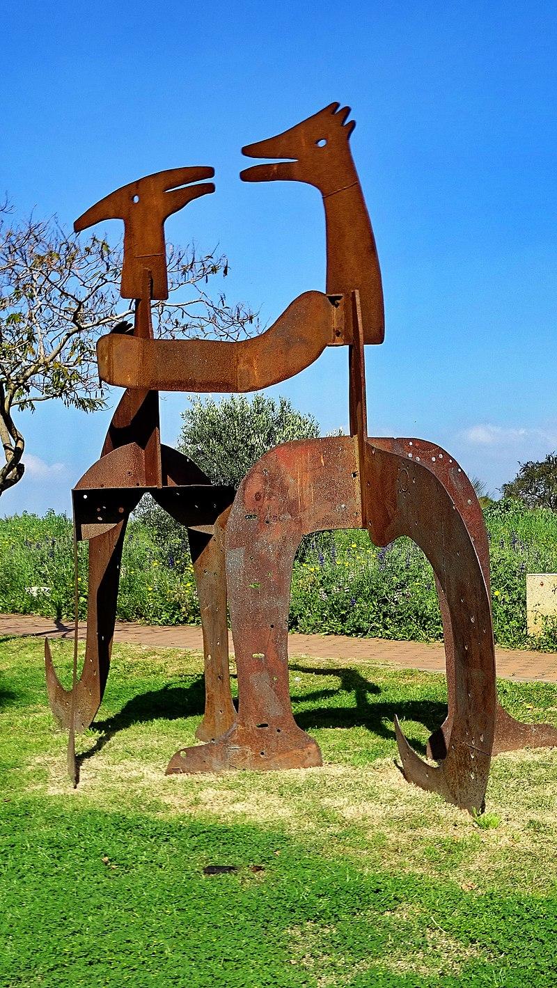 פסל חוצות בגני תקווה