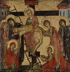 Déposition de Croix et mise au tombeau