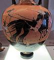 Pittore di berlino, anfora panatenaica con atena e corsa di quadrighe, 460 ac. ca. 03.JPG