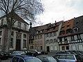 Place du Lycée, rue du Landeck (Colmar).JPG