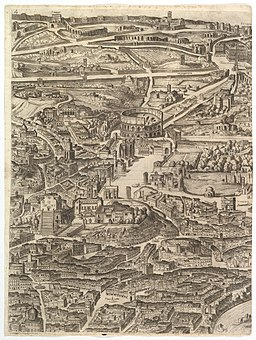 Plan of the City of Rome MET DP826508