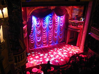Playhouse Theatre - Interior of the theatre